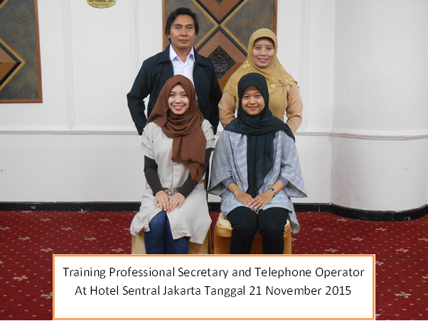 training profesional secretary
