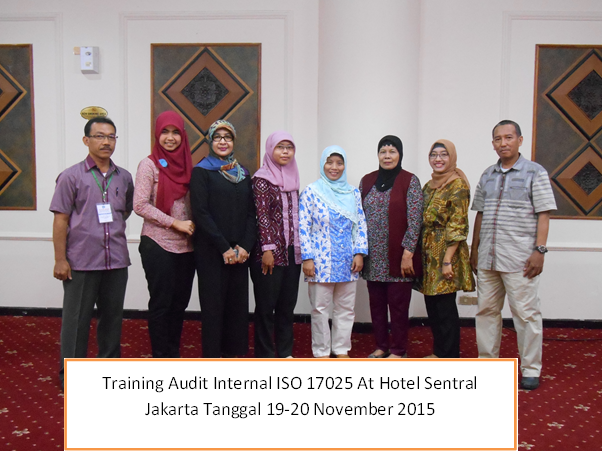 training audit internail iso 17025