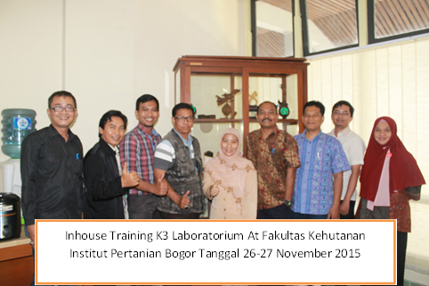 inhouse training k3 lab ipb