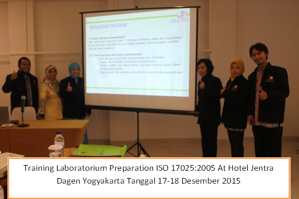 training laboratorium preparation iso 17025