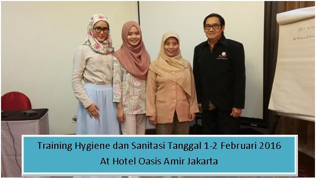 training hygiene dan sanitasi