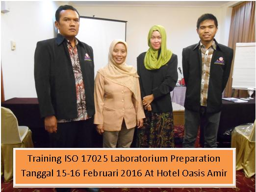 training iso 17025 15-16 Feb 2016