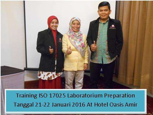 training iso 17025 21-22 jan 2016