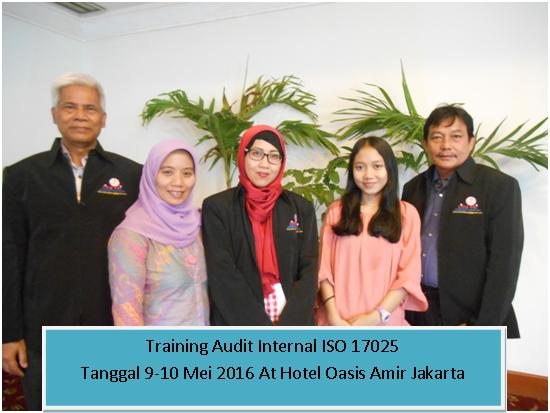 training audit internal iso 17025