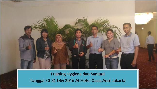 training hygiene dan sanitasi jkt