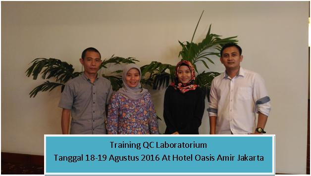 training QC lab