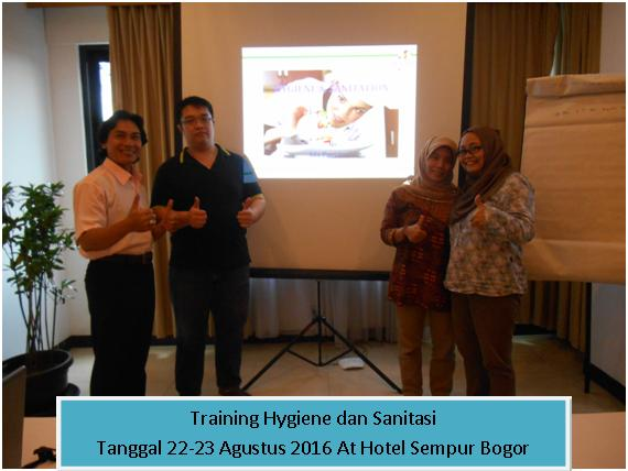 training hygiene dan sanitasi agt