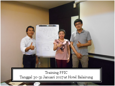 training ppic tgl 30-31 januari 2017