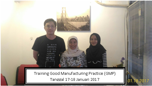 training gmp 17-18 januari 2017