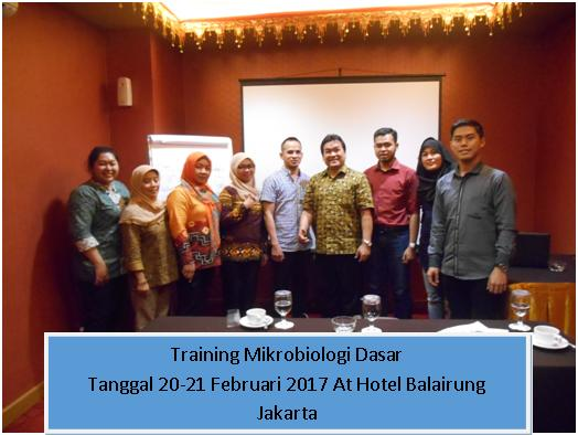 training mikrobiologi dasar tgl 20-21 feb 17